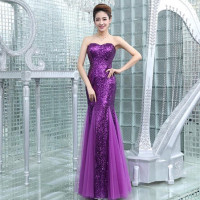 C70465A elegant and fashion sexy long dress bridesmaid dresses for wedding