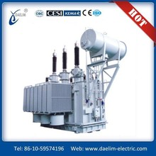 242kv High Voltage Oil Immersed Three phase No Load tap changer Power Transformer