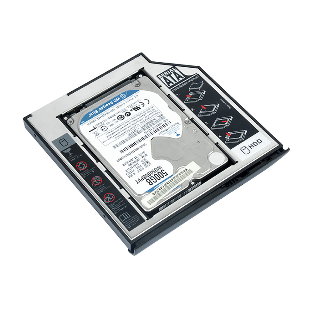 New Arriver SATA 2nd HDD Caddy external hard drive for laptop