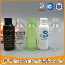 CN2015 BV and FDA pen style 30ml plastic spray bule bottle with butterfly cap