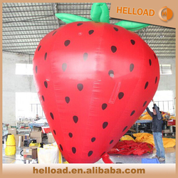 Giant inflatable strawberry /inflatable fruit model for advertising