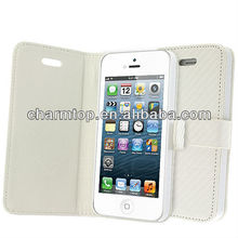 Hot Selling Wallet Leather Case for iPhone 5