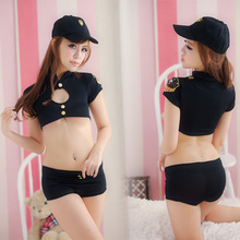 C81501A Ds costumes policewoman uniforms Sexy night dress