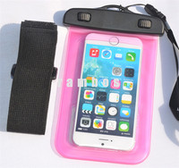 PVC Waterproof Dry Bag with Lanyard Underwater Transparent Cellphone Pouch Case for samsung galaxy s4 zoom
