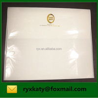 plastic gold stamping booklet envelopes