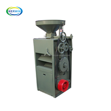 Commercial home use diesel engine rice milling machine