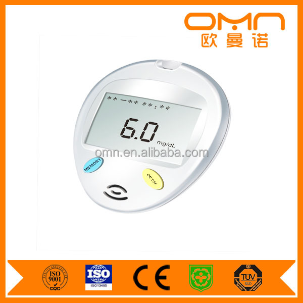 approved CE FDA certificates medical cheap OEM blood glucose meter