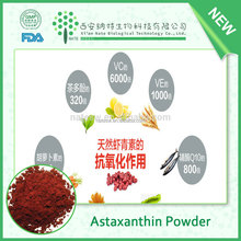 100% pure natural organic astaxanthin 1% powder