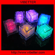 on/off switch flashing light LED ice cubes for party decoration