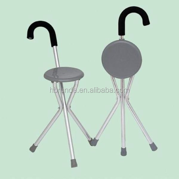 Walking Stick Fishing Chairs Folding Cane With Seat
