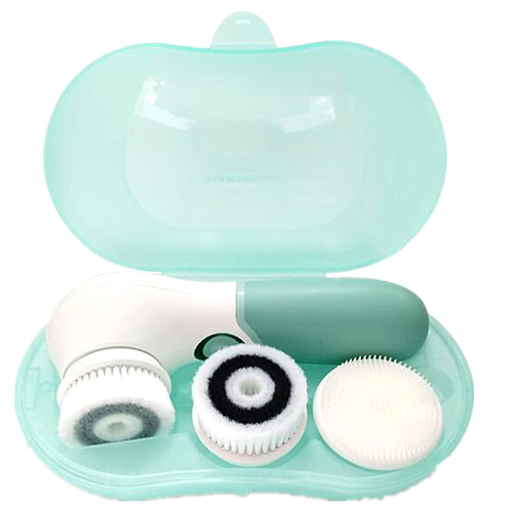 TOUCHBeauty Advanced Facial Cleansing System 3 in 1 Waterproof Facial Cleansing Brush