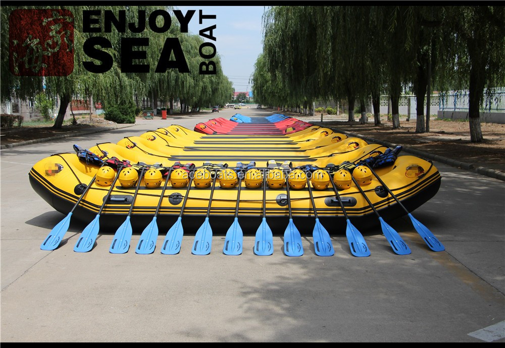 Large Inflatable Rafting Boat, Whitewater Rafts And Inflatable Kayaks For  River!