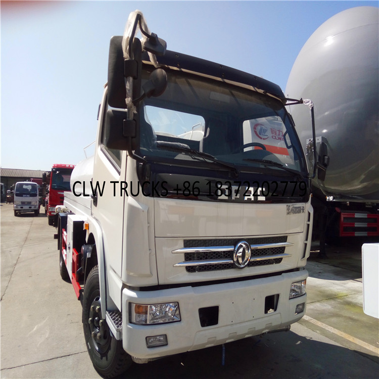 Cheap mini tanker truck used for coconut oil cooking oil transport vehicle Aluminum alloy oil tanker trucks