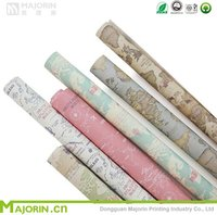 Deluxe Quality Gift Wrap Roll - floral Gift Wrap