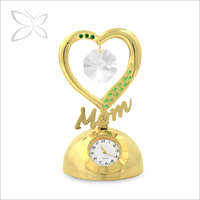 Highest Quality Gold Plated Metal Desk Timer Clock