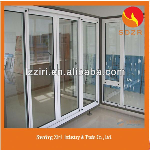 aluminium bronze color adjustable glass louvre window
