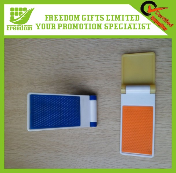 Promotional Logo Customized Plastic Mobile Phone Stand