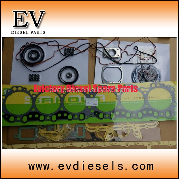excavator parts K13CT cylinder head gasket K13CT overhauling full gasket kit