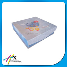 clamshell paper box for photo package on sale now rigid paper