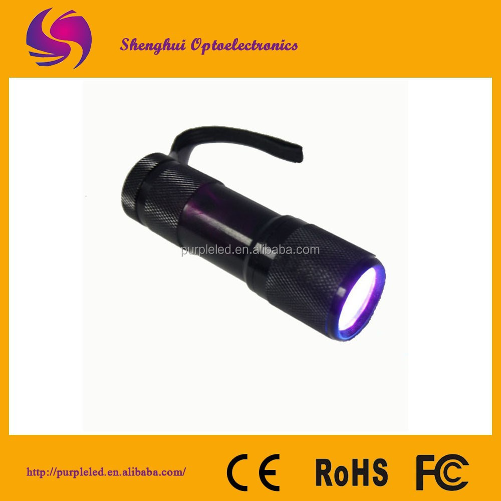 Newest 2015 Color Changing Mining Aluminum 9led Flashlight