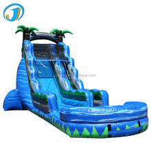 Outdoor PVC Slip and Slides Giant Size Inflatable fashion slides For Adults