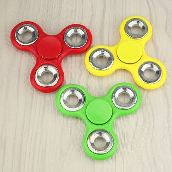 Custom Fidget Spinner with Speed Holes!!! - Custom Painted - 4 Bearing - Stress and Anxiety Relief
