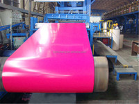 Manufacturing ppgi/ppgl sheet in coil for corrugated roofing tile