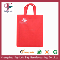 Wholesale reusable non woven shopping bags