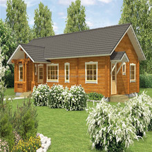 2016 popular russian timber house with good quality