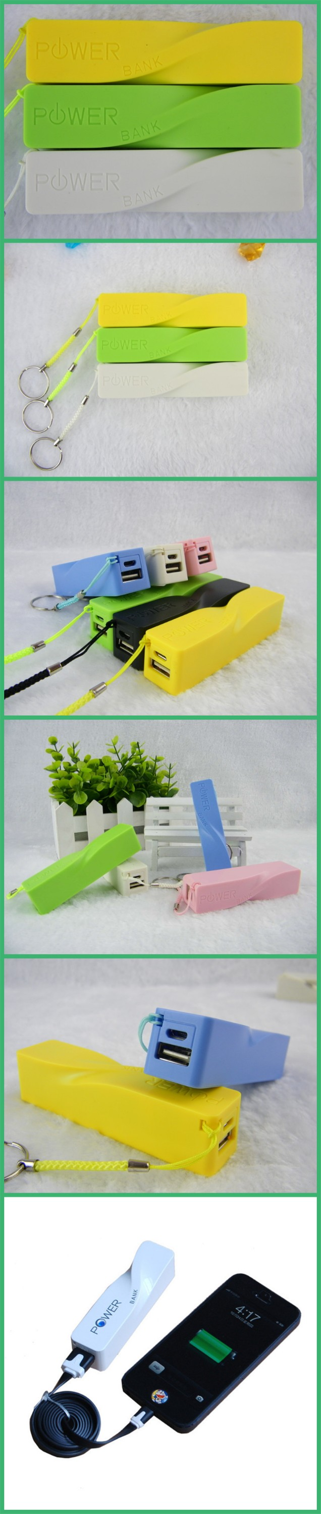 New Stylish Keychain Portable power bank 5000mah Suitable for Businessman Model JEC-004PB