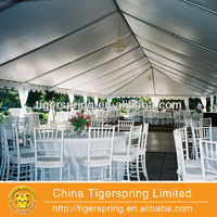 the newest popular fabric for decorating tent