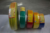 BV1.5mm 2.5mm 4mm 6mm Electrical Copper Conductor PVC Coated Wire for House Wiring Cable