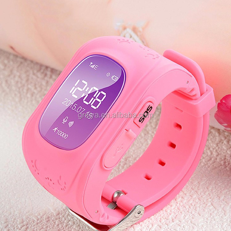 Hot q50 smart kareme pt03 wifi kids watch phone