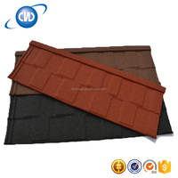 CWR-F1 New Building Materials Stone Coated Metal Roofing Tile