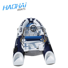 (12.8')390cm inflatable carbon fiber RIB fishing boat for sale