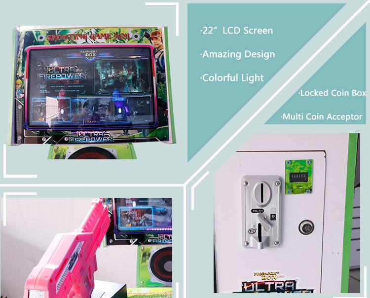 arcade machine shipping