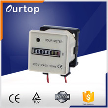 hour meter HM-2 with 7 Digits AC220~240V machinery hour counter