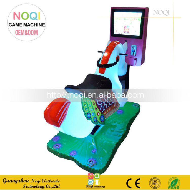 Popular kiddie rides coin operated machine horse racing game with competitive price