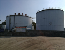 China Reuseable 500T Bitumen Asphalt Tanks for Pakistan Highways Building Contractors