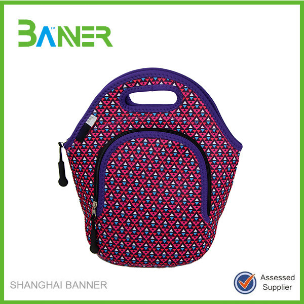 New style neoprene lunch bag for women