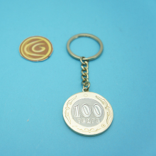 new promotional metal keychain manufacturer custom key chain for brand name logo