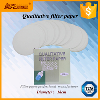 Lab-supply cotton pulp roll 18cm qualitative filter paper