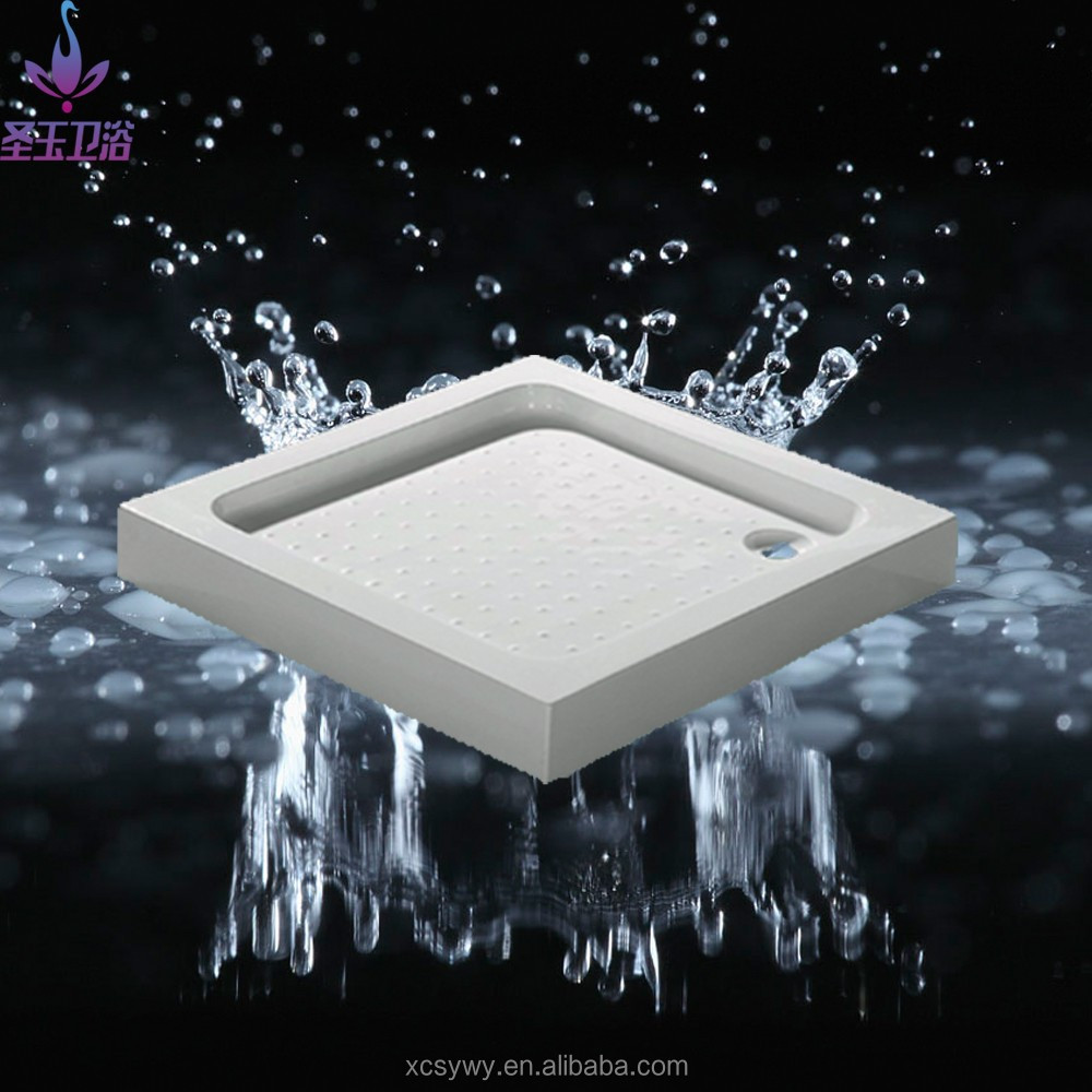 Classical easy installation acrylic bathroom accessories shower tray SY-3003