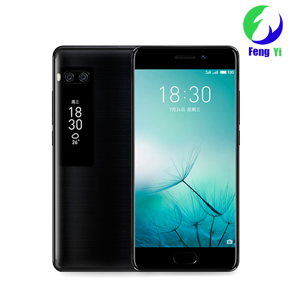 "Original Meizu Pro 7 4G LTE 4GB 64GB/128GB Octa Core Cell Phone 5.2"" 1080P AMOLED Dual Screen Dual Rear 12.0MP Fast Charge Dual"