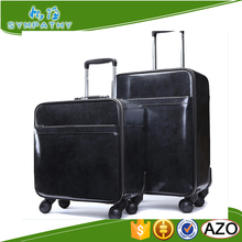 wholesale boarding Chassis trolley PU Pulley Luggage Case