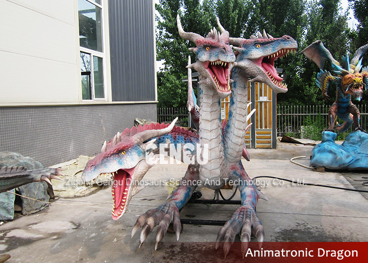 Zigong Animatronic Artificial Dragon Animatronic