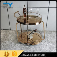 Beauty dining trolley cart with high quality