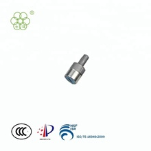 Cylinder lock with decorative cover for electric car/fuel vehicle