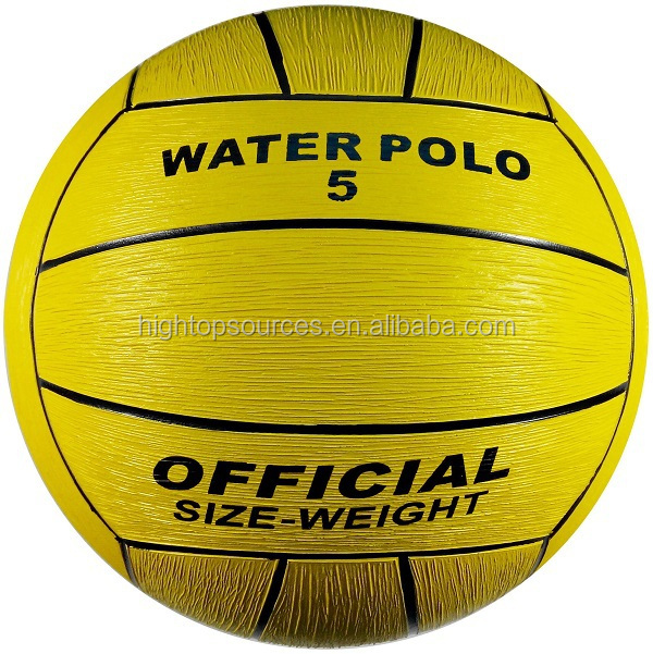 Hightop inflateble water polo ball