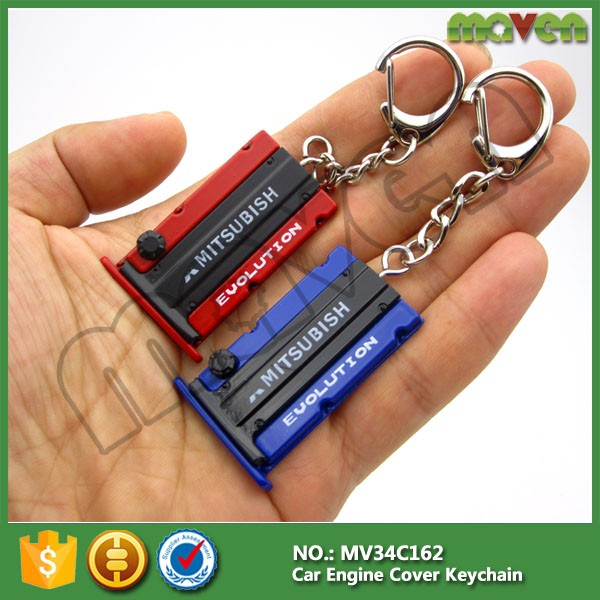 JDM RACING D1 Spec Aluminum alloy car Wheel Lug Nuts Screw keychain keyring key ring chain